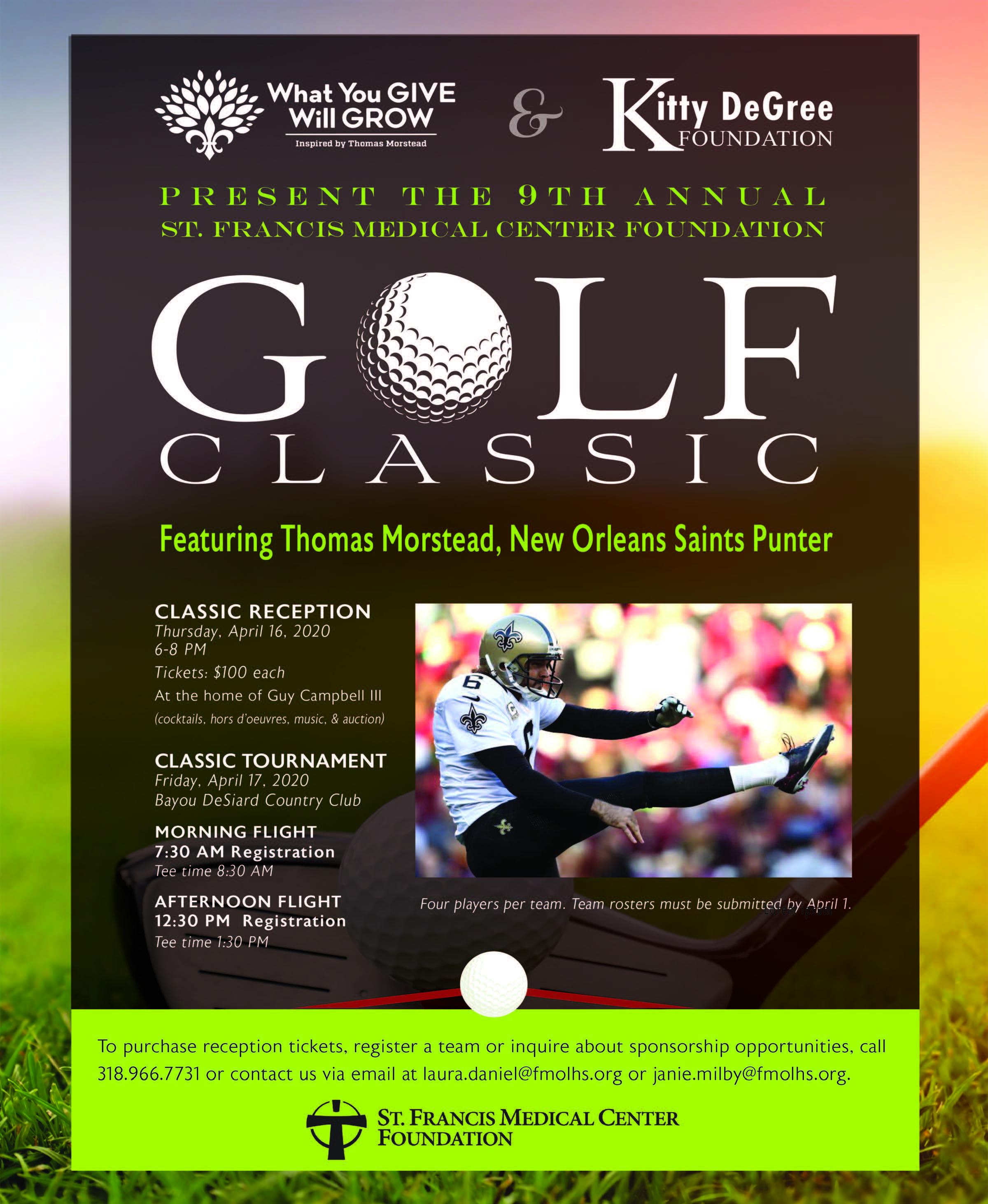 Golf Classic Monroe, Louisiana (LA), St. Francis Medical