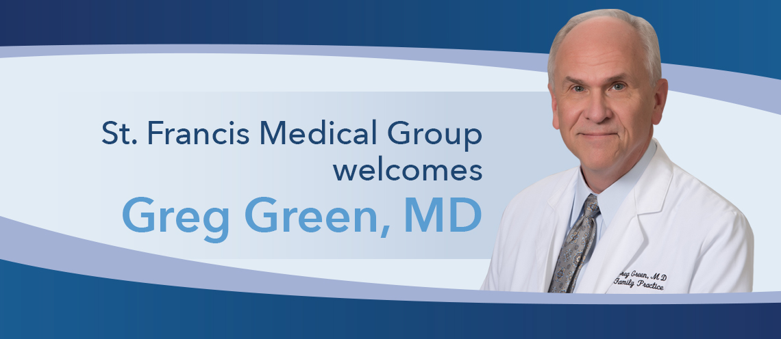 Dr  Greg Green Joins St  Francis Medical Group Monroe