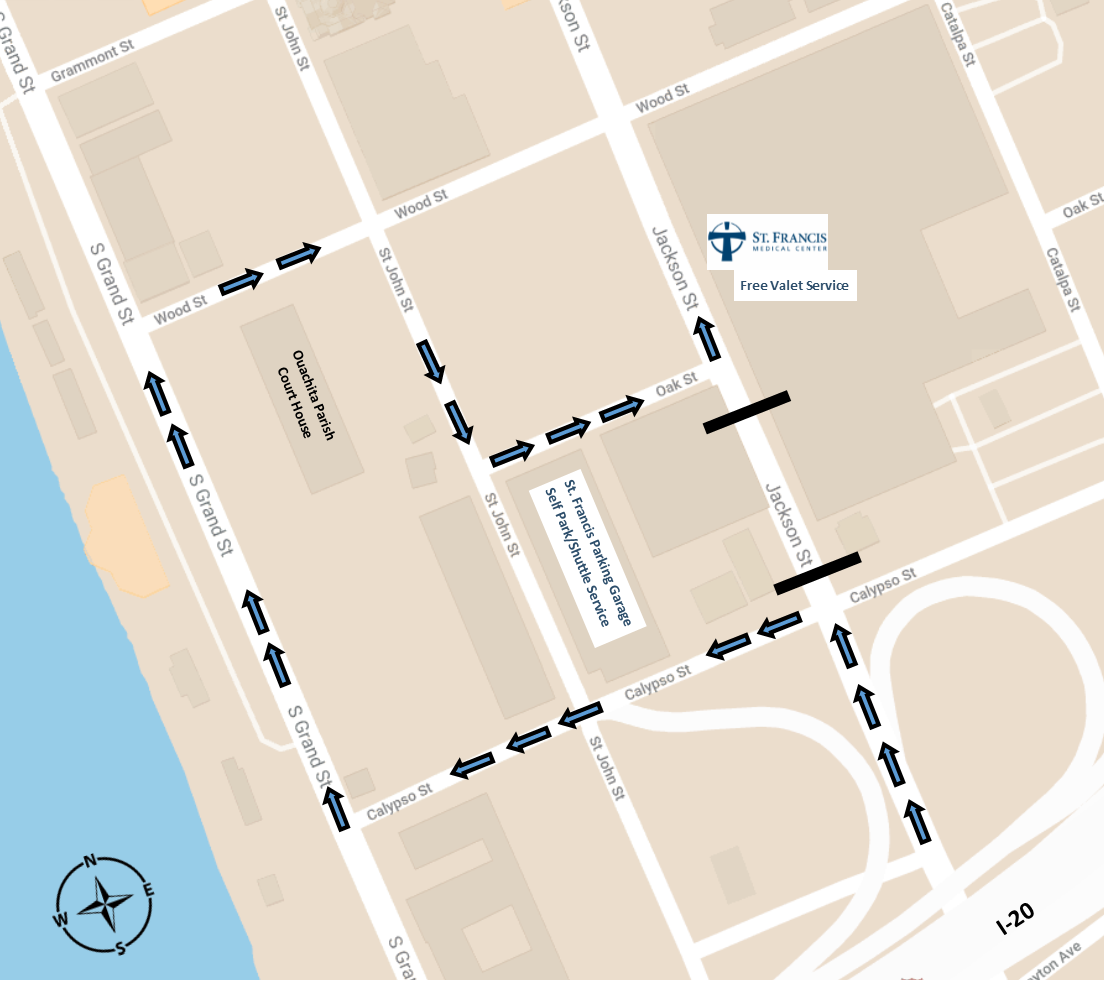 Section Of Jackson Street To Close Near St. Francis